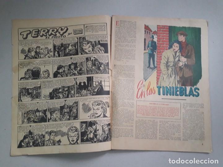 Tebeos: Tit Bits n° 2047 - La Sombra - historieta original argentina año 1948 - Foto 2 - 184431801