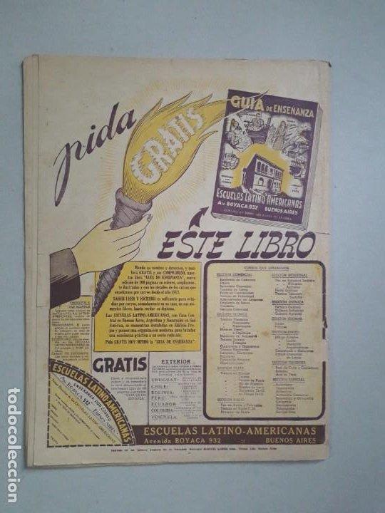 Tebeos: Tit Bits n° 2047 - La Sombra - historieta original argentina año 1948 - Foto 7 - 184431801