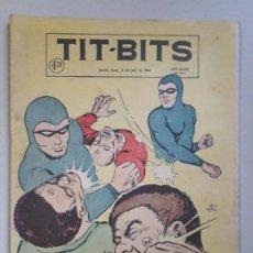 Tebeos: TIT BITS N° 2457 - LA SOMBRA - HISTORIETA ORIGINAL ARGENTINA AÑO 1956. Lote 184520111