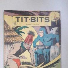 Tebeos: TIT BITS N° 2405 - LA SOMBRA - HISTORIETA ORIGINAL ARGENTINA AÑO 1955. Lote 184521586