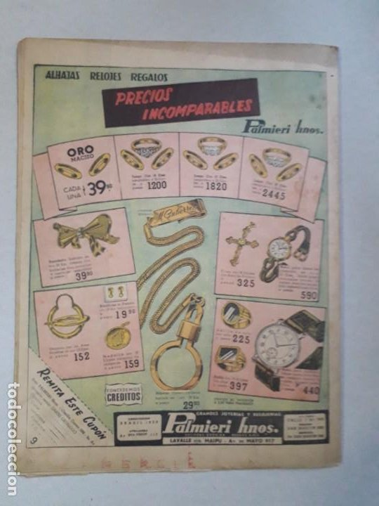 Tebeos: Tit Bits n° 2405 - La Sombra - Historieta original argentina año 1955 - Foto 6 - 184521586