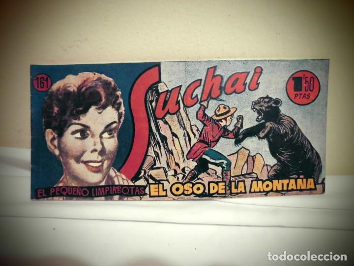 SUCHAI -NO 161 -EL OSO DE LA MONTAÑA - HISPANO AMERICANA -BCN (Tebeos y Comics - Hispano Americana - Suchai)