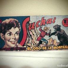Tebeos: SUCHAI -NO 161 -EL OSO DE LA MONTAÑA - HISPANO AMERICANA -BCN . Lote 184780542