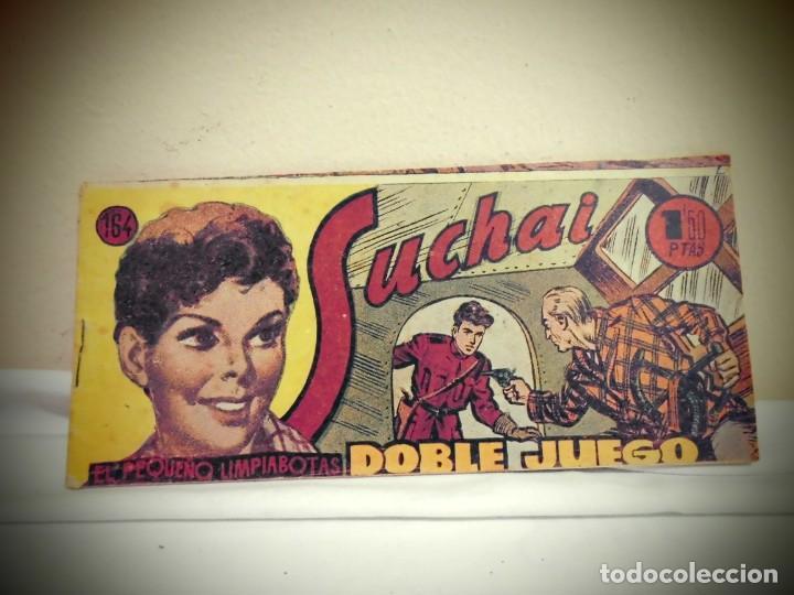 SUCHAI -NO 164 -DOBLE JUEGO - HISPANO AMERICANA -BCN (Tebeos y Comics - Hispano Americana - Suchai)