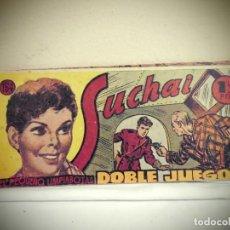 Tebeos: SUCHAI -NO 164 -DOBLE JUEGO - HISPANO AMERICANA -BCN . Lote 184780765