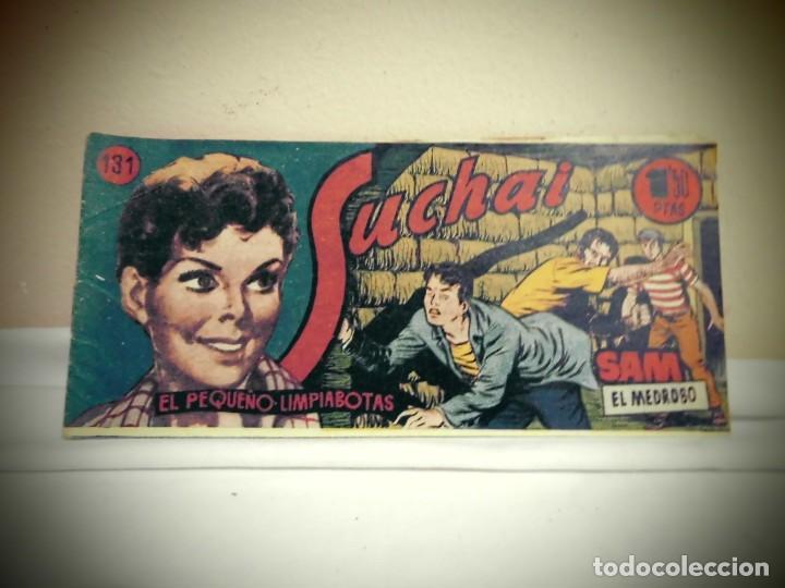 SUCHAI -NO 131-SAM EL MEDROSO-HISPANO AMERICANA -BCN (Tebeos y Comics - Hispano Americana - Suchai)
