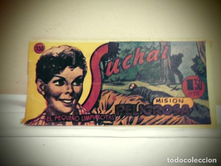 SUCHAI -NO 153 -MISION PELIGROSA - HISPANO AMERICANA -BCN (Tebeos y Comics - Hispano Americana - Suchai)
