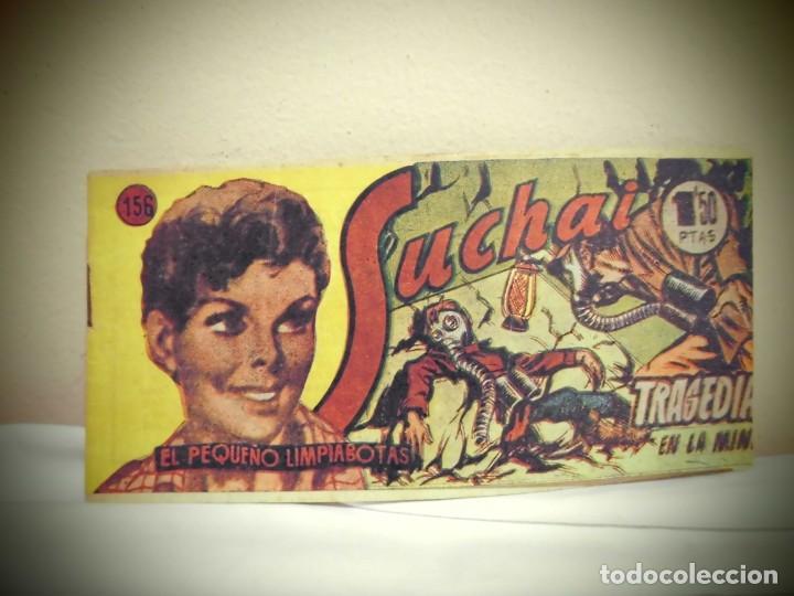 SUCHAI -NO 156 -TRAGEDIA EN LA MINA - HISPANO AMERICANA -BCN (Tebeos y Comics - Hispano Americana - Suchai)