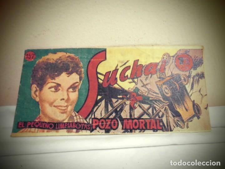 SUCHAI -NO 157 -POZO MORTAL - HISPANO AMERICANA -BCN (Tebeos y Comics - Hispano Americana - Suchai)
