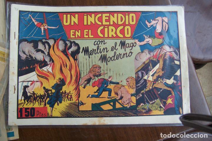 HISPANO AMERICANA, LOTE DE MERLÍN EL MAGO, VER (Tebeos y Comics - Hispano Americana - Merlín)