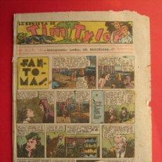 Tebeos: TIM TYLER Nº 110 (DE 113). HISPANO AMERICANA DE EDICIONES, NOVIEMBRE DE 1938. VER FOTOS.. Lote 185696102