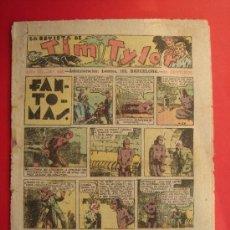 Tebeos: TIM TYLER Nº 105 (DE 113). HISPANO AMERICANA DE EDICIONES, SEPTIEMBRE DE 1938. VER FOTOS.. Lote 185696472
