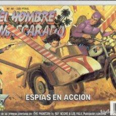 Tebeos: EL HOMBRE ENMASCARADO N,46,ESPIAS EN ACCION - EDICION HISTORICA. Lote 185701787