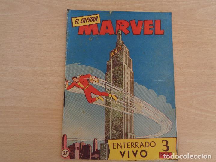 EL CAPITÁN MARVEL NÚM. 27. ORIGINAL. EDITA HISPANO AMERICA (Tebeos y Comics - Hispano Americana - Capitán Marvel)