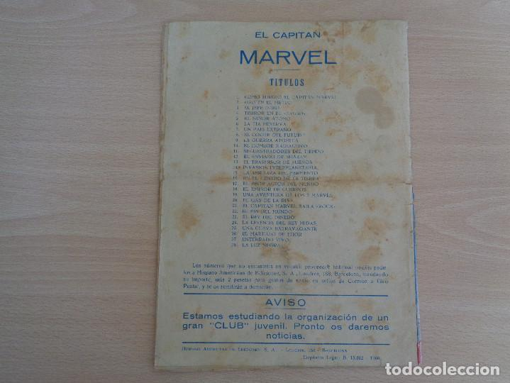 Tebeos: El Capitán Marvel núm. 27. Original. Edita Hispano America - Foto 2 - 186170766