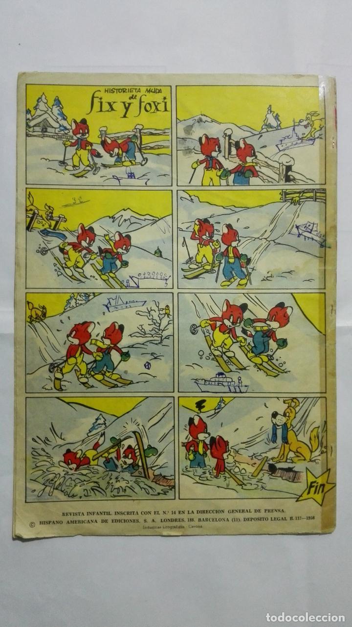 Tebeos: REVISTA INFANTIL YUMBO, Nº 401, HIPANO AMERICANA DE EDICIONES, AÑO 1958 - Foto 2 - 187457292