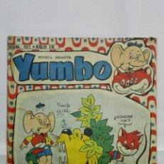 Tebeos: REVISTA INFANTIL YUMBO, Nº 401, HIPANO AMERICANA DE EDICIONES, AÑO 1958. Lote 187457292