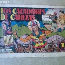 BDs: PEPE RUIZ Y PUJOL - Nº 2 HISPANO AMERICANA - LOS CAZADORES DE CABEZAS . Lote 187495818