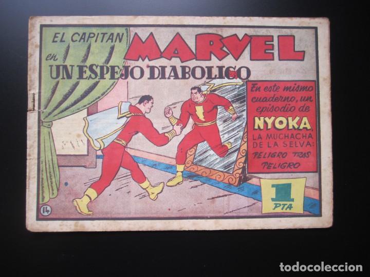 CAPITAN MARVEL, EL (1947, HISPANO AMERICANA) 14 · 1947 · UN ESPEJO DIABOLICO (Tebeos y Comics - Hispano Americana - Capitán Marvel)