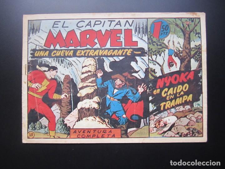 CAPITAN MARVEL, EL (1947, HISPANO AMERICANA) 50 · 1947 · UNA CUEVA EXTRAVAGANTE (Tebeos y Comics - Hispano Americana - Capitán Marvel)