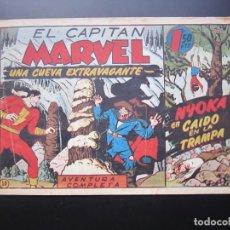 Tebeos: CAPITAN MARVEL, EL (1947, HISPANO AMERICANA) 50 · 1947 · UNA CUEVA EXTRAVAGANTE. Lote 188470626