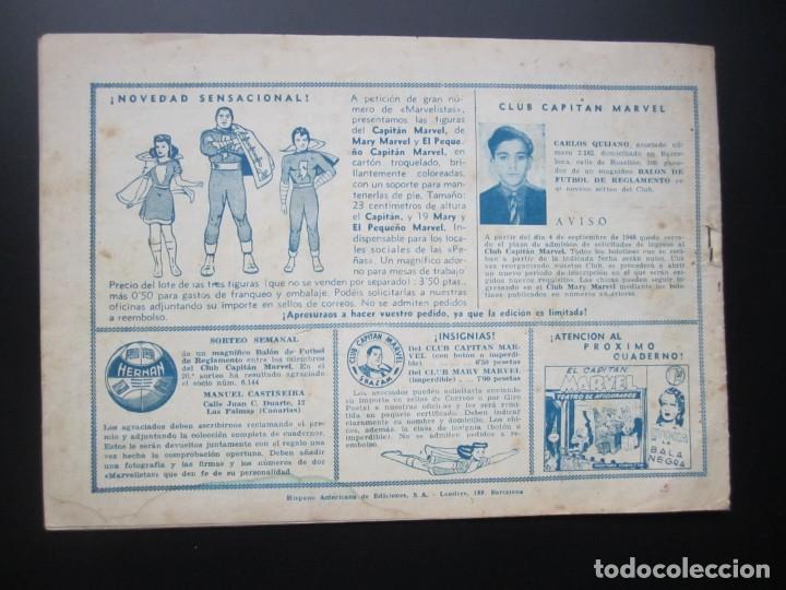 Tebeos: CAPITAN MARVEL, EL (1947, HISPANO AMERICANA) 50 · 1947 · UNA CUEVA EXTRAVAGANTE - Foto 2 - 188470626