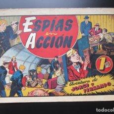 Tebeos: JORGE Y FERNANDO (1940, HISPANO AMERICANA) 47 · 1940 · ESPÍAS EN ACCIÓN. Lote 188471773