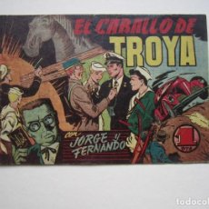 Tebeos: JORGE Y FERNANDO (1940, HISPANO AMERICANA) 60 · 1940 · EL CABALLO DE TROYA. Lote 188485443