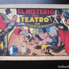 Tebeos: MERLIN (1942, HISPANO AMERICANA) -EL MAGO MODERNO- 10 · 1942 · EL MISTERIO DEL TEATRO. Lote 188488968