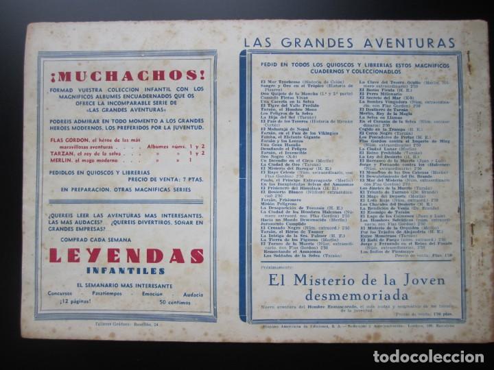 Tebeos: MERLIN (1942, HISPANO AMERICANA) -EL MAGO MODERNO- 10 · 1942 · EL MISTERIO DEL TEATRO - Foto 2 - 188488968