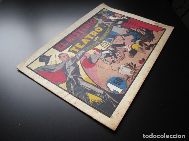 Tebeos: MERLIN (1942, HISPANO AMERICANA) -EL MAGO MODERNO- 10 · 1942 · EL MISTERIO DEL TEATRO - Foto 3 - 188488968