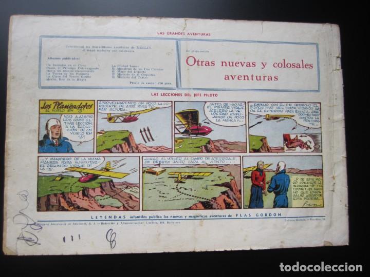 Tebeos: MERLIN (1942, HISPANO AMERICANA) -EL MAGO MODERNO- 11 · 1942 · CAMPEON A LA FUERZA - Foto 2 - 188489996
