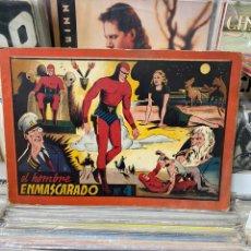 BDs: EL HOMBRE ENMASCARADO. ALBUM ROJO Nº 4. HISPANO AMERICANA. Lote 188727972