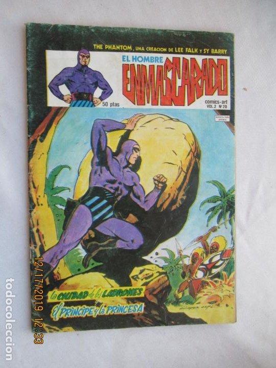 EL HOMBRE ENMASCARADO UNIGRAF BARCELONA 1980 - VOL 2 Nº 20 (Tebeos y Comics - Hispano Americana - Hombre Enmascarado)