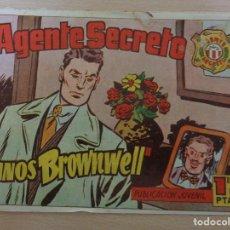 BDs: AGENTE SECRETO Nº 18. MANOS BROWNWELL. EDITA HISPANO AMERICANA. Lote 189432960