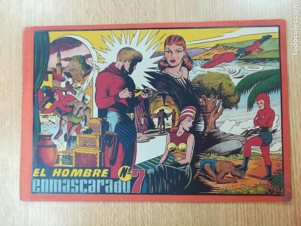 HOMBRE ENMASCARADO #7 (Tebeos y Comics - Hispano Americana - Hombre Enmascarado)