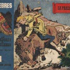 Tebeos: AVENTURAS CELEBRES Nº 7 - LOS CAZADORES DE CABELLERAS - ILUST. RIPOLL - A. 1958. Lote 189816558