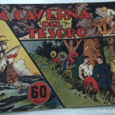 Tebeos: JORGE Y FERNANDO - LA CAVERNA DEL TESORO. Lote 190115227