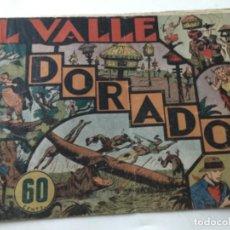 Tebeos: JORGE Y FERNANDO - EL VALLE DORADO. Lote 190115285