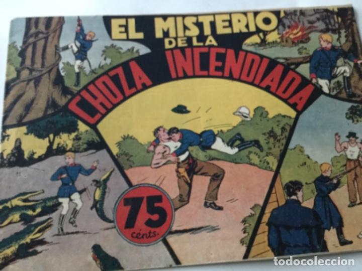 JORGE Y FERNANDO- EL MISTERIO DE LA CHOZA INCENDIADA- MUY BUENA CONSERVACIÓN (Tebeos y Comics - Hispano Americana - Jorge y Fernando)