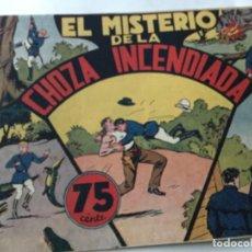 Tebeos: JORGE Y FERNANDO- EL MISTERIO DE LA CHOZA INCENDIADA- MUY BUENA CONSERVACIÓN. Lote 190116291