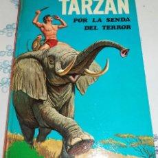 Tebeos: TARZÁN POR LA SENDA DEL TERROR EDGAR RICE BURROUGHS ED. LAIDA FHER 1970 COMIC EN PASTA DURA COLOR. Lote 190291967