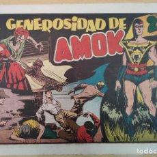 Tebeos: LA GENEROSIDAD DE AMOK. ORIGINAL. AÑOS 40. Lote 190455626