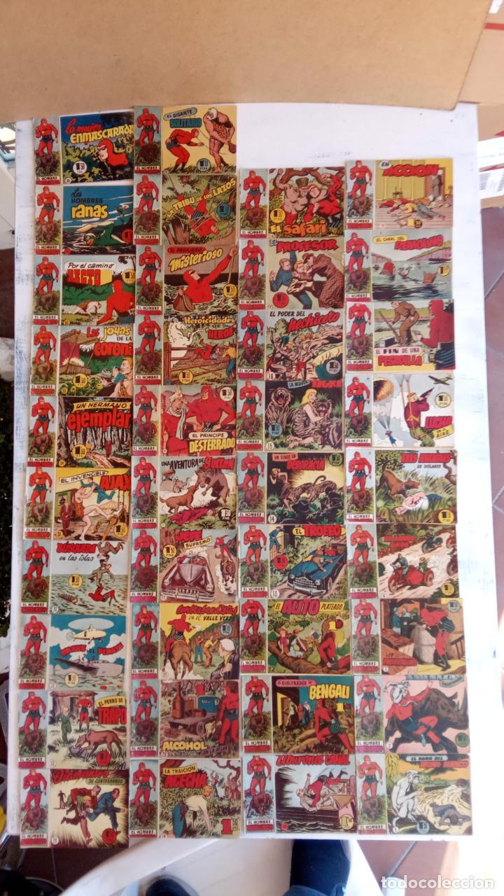 Tebeos: EL HOMBRE ENMASCARADO ORIGINAL AÑO 1952 - COMPLETA 1 AL 38 - VER NUMEROSAS IMÁGENES - Foto 5 - 190479470