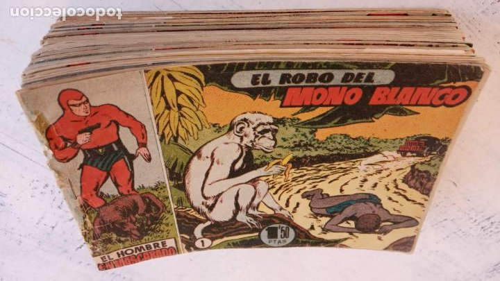 Tebeos: EL HOMBRE ENMASCARADO ORIGINAL AÑO 1952 - COMPLETA 1 AL 38 - VER NUMEROSAS IMÁGENES - Foto 8 - 190479470