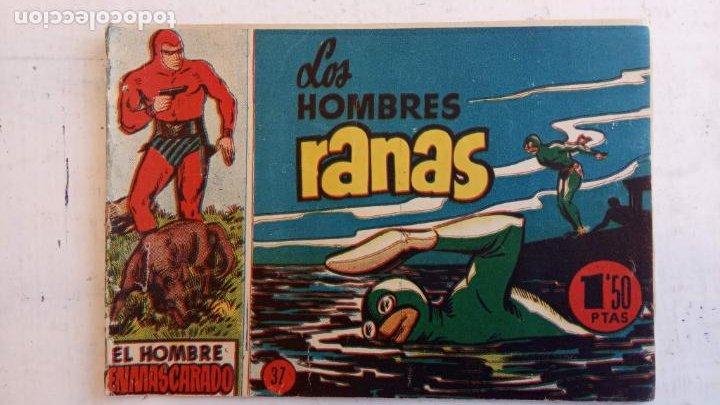 Tebeos: EL HOMBRE ENMASCARADO ORIGINAL AÑO 1952 - COMPLETA 1 AL 38 - VER NUMEROSAS IMÁGENES - Foto 14 - 190479470