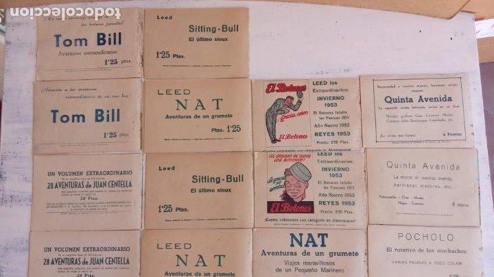 Tebeos: EL HOMBRE ENMASCARADO ORIGINAL AÑO 1952 - COMPLETA 1 AL 38 - VER NUMEROSAS IMÁGENES - Foto 16 - 190479470