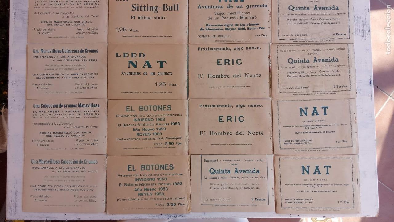 Tebeos: EL HOMBRE ENMASCARADO ORIGINAL AÑO 1952 - COMPLETA 1 AL 38 - VER NUMEROSAS IMÁGENES - Foto 18 - 190479470