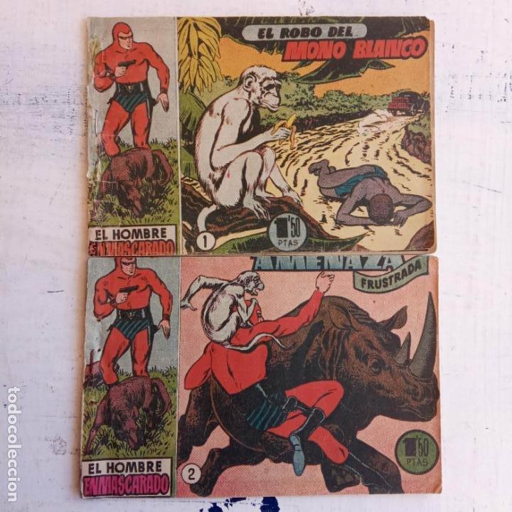 Tebeos: EL HOMBRE ENMASCARADO ORIGINAL AÑO 1952 - COMPLETA 1 AL 38 - VER NUMEROSAS IMÁGENES - Foto 19 - 190479470