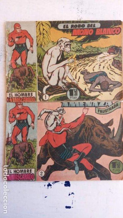 Tebeos: EL HOMBRE ENMASCARADO ORIGINAL AÑO 1952 - COMPLETA 1 AL 38 - VER NUMEROSAS IMÁGENES - Foto 20 - 190479470